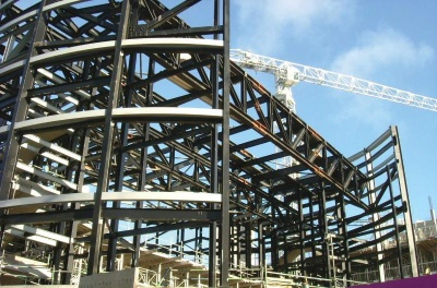 400px AR 2006 7 Project Scan, Manchester University, Elland Steel Structures Ltd